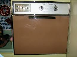 retro wall oven vinta brown oven vintage wall oven restoration
