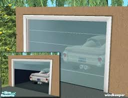 sims 4 garage door gl garage door sims 4 fake garage door