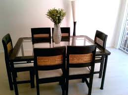 used dining room table and chairs second hand dining room chairs modern design used dining room
