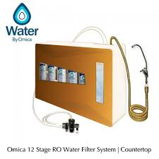 omica 12 stage water filter activation system counter top