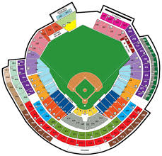 National Park Seating Chart Nationals Ball Park Seating Chart And Parking Information