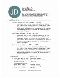 Free Resume Template Download Stunning Free Resume Templates Dowlaods Resume Templates Free Resume