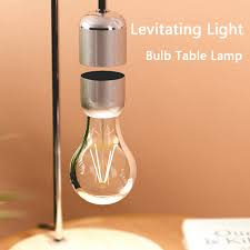 Lighting Geek Us 40 59 42 Off Levitating Light Bulb Table Lamp Luminosity Anti Gravity Lamp Magnetic Lamp Reading Book Lights Geek Touch Dimming Exhibition In