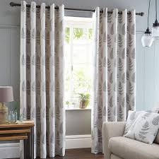 Dunelm Mill Kitchen Curtains Fern Grey Lined Eyelet Curtains Dunelm Kitchen Curtains