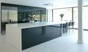 high gloss white cabinets kitchen awesome black acrylic high gloss kitchen cabinets with white in modern