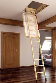 wooden loft ladder the loft ladder is a two section ladder with the bottom section sliding wooden loft ladder