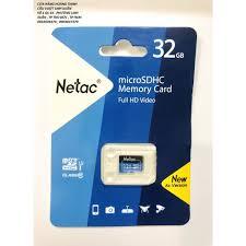 Thẻ nhớ 32- 64 - 128 GB NETAC - Hàng chính hãng tại TP. Hồ Chí Minh
