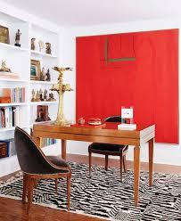 red home office. Red Home Office. Office Decor Dvf Style Better Decorating Bible Artwork Black White O