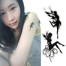 119 Tinker Bell Anděl Zubní Víla Tetování Samolepky Dočasné Tetování 1 Ks