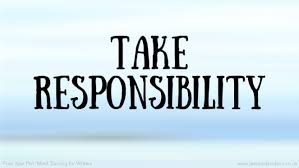 Image result for take responsibility