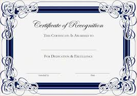 Certificate Of Achievement Word Template Word Template Certificate Of Achievement New Certificate Of 18