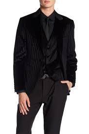 Ron Tomson Velvet Striped Slim Fit Jacket Hautelook