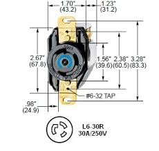 hubbell hbl2620, l6 30r twist lock� ac receptacle L15 -30R Wiring-Diagram hubbell l6 30r twist lock� receptacle rated for 30a 250v