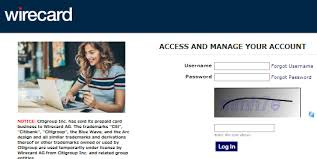 citi prepaid card account login