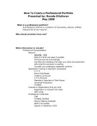 Create A Professional Resume Resume Templates