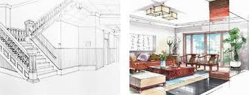 interior design drawings perspective. Brilliant Design Two Point Perspective Drawing Samples On Interior Design Drawings N
