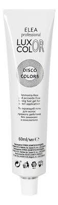 <b>Тонирующий гель для</b> волос прямого действия Luxor Disco Colors ...