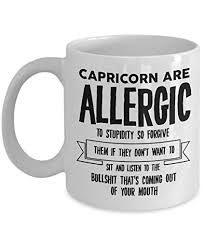 best coffee mug capricorn gifts ideas for men and women capricorn are allergic to