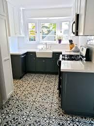 modern kitchen floors. Vivacious Luxurious House Interior With Neutral Colors : Beautiful Modern Kitchen Design Mosaic Tile Floor Griffith Floors