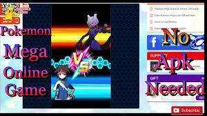 New Pokemon Games! Pokemon Mega Evolution: Without Installation ...