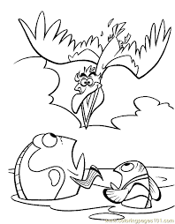 Finding Nemo Coloring 16 Coloring Page Free Finding Nemo Coloring