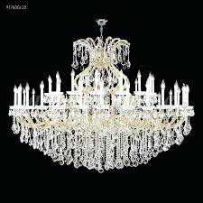 james r moder 91760s22 maria theresa grand 49 light crystal chandelier in silver with imperial crystal clear hampton bay maria theresa 6 light acrylic
