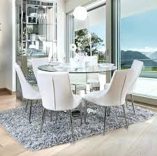 white furniture dining room sets round glass table set and chairs kitchen for w