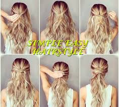 simple easy hairstyle 8