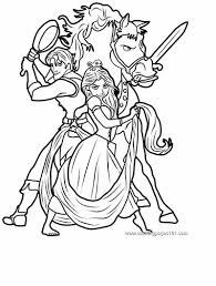 Small Picture 170 FREE Tangled Coloring Pages December 2017 Rapunzel Coloring