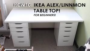 ikea linnmon table top decor idea on pleasant alex linnmon table black brown white 200 60 cm ikea ikea satukis info for ikea linnmon table top