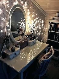 makeup vanity lighting ideas. Charming Makeup Vanity Lighting Lights Table Ideas Ultimate Home For Decor P