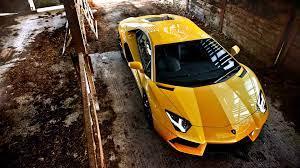 Yellow Lamborghini Aventador Wallpaper ...