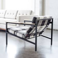 contemporary metal furniture. Halifax Chair   Tartan Shadow \u0026 Black Contemporary Metal Furniture