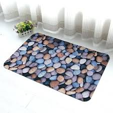 waterproof rugs indoor cobblestone area rug for home kitchen bathroom living room outdoor outd