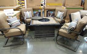 patio furniture sets costco. Awesome Agio Fire Pit Costco International 5 Pc Chat Set  1379 99 Frugal Patio Furniture Sets Costco