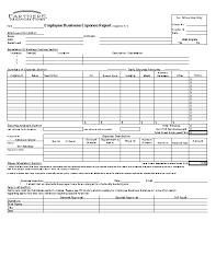Expense Report Form Template Excel Business Expense Report Form Template Pdfsimpli