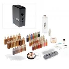 temptu pro deluxe airbrush makeup kit