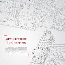 architectural engineering blueprints.  Architectural Vector Technical Blueprint Of Mechanism Engineer Illustration Set  Corporate Identity Templates Architecture In Architectural Engineering Blueprints