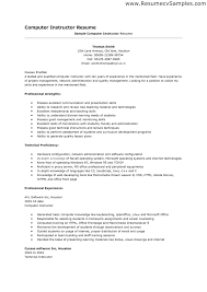 Resume Skill List Example Soft Skills Sample Of Examples In To On A