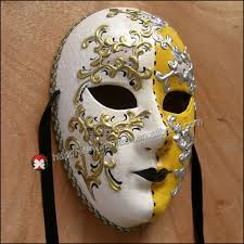 Decorative Face Masks party mask masquerade Venetian full face maskhand draw 100d venice 23
