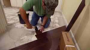 installing diagonal glued down engineered wood flooring today s homeowner