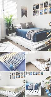 25 Easy DIY Bed Frame Projects to Upgrade Your Bedroom | Bed frames,  Bedrooms and Pallets