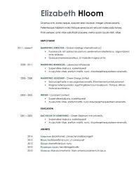 Google Docs Resume Template Free Inspiration Resume Template For Internal Promotion 60 Google Docs Resume