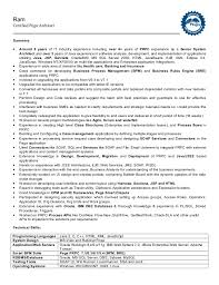 Ram Certified Pega Architect Summary:  Around 8 years of IT industry  experience including over ...
