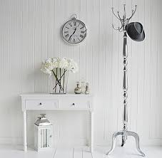 Chrome Coat Rack Stand A Chrome coat rack from The White Cottage Living 31