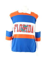 80s nutmeg florida gators rugby polo long sleeve 23 50
