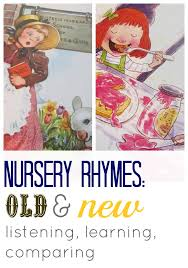 nursery rhymes old and new listening