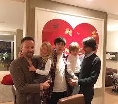 Alessia Marcuzzi, Natale in famiglia allargata con i figli e ...