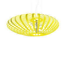 noodle led pendant by yellow goat design