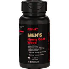 - 600mg Horny Capsules 60 Gnc Clicks Goat Weed